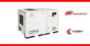 英格索兰VPeX 15-55KW VSD 单级压缩变频喷油螺杆空气压缩机1的图片