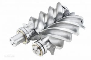 螺杆式空气压缩机的图片