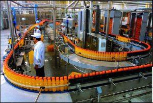 空压机饮料生产线的图片