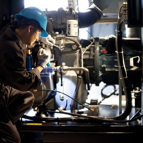 英格索兰空压机的维护保养的图片